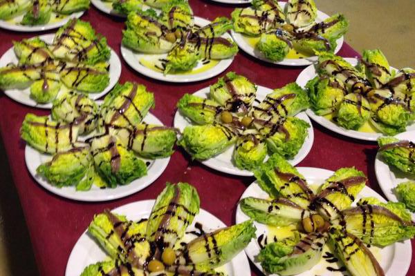 Almuerzos y comidas de empresas Catering Zaragoza MENU